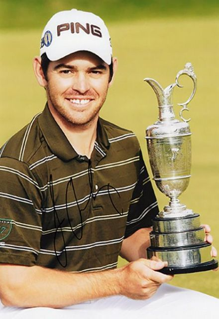 Louis Oosthuizen, Open Championship 2010 St Andrews, signed 12x8 inch photo.